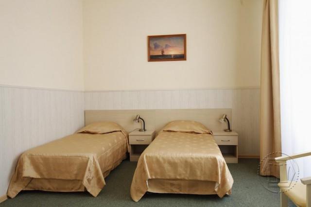 «Люкс комфорт» 2-х местный 2-х комнатный